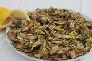 insalata fresca di carciofi