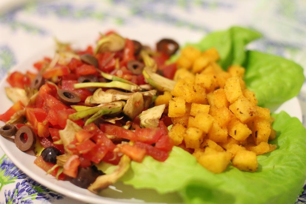 polenta crocchette