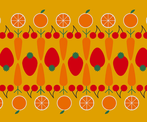 vitamin fruit cartoon
