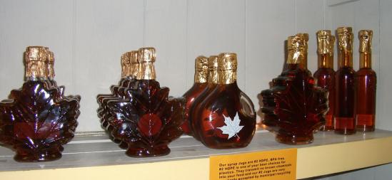 bottiglie sciroppo