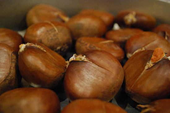 Roasted Chestnuts - Squirrel's Nuts, Oakleigh AUD8.99 per kg