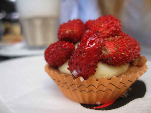 Wild Strawberry Tart